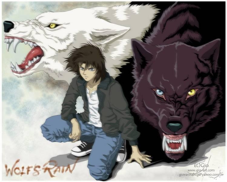 Парень волк wolf rain