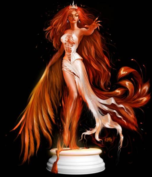девушка демон феникс птица огонь ...: farmiranime6.ucoz.ru/photo/5-0-2131